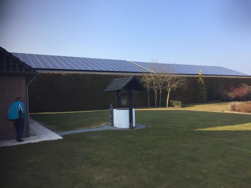 Zonnepanelen Hooge Mierde - Noord Brabant