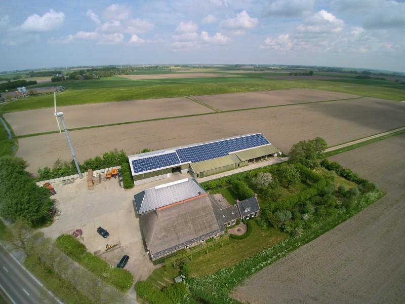 Zonnepanelen Stiens - Friesland